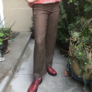 New vintage multicolored Gucci wool pants